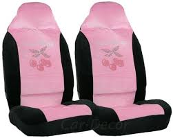 rhinestone sweet cherry car seat covers