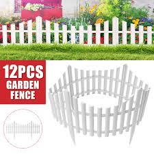 6pcs Decorative Garden Fence 20 5 In X 16 Ft Rustproof Plastic Garden Fencing Panel Animal Barrier Iron Folding Edge Border Fence Ornamental For Patio Landscape Vegetable Bed Walmart Com Walmart Com