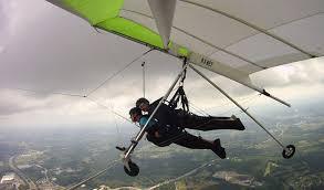 hang gliding over hudson valley