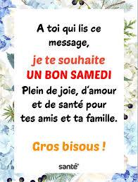 Santé+ Magazine - Je te souhaite un bon samedi ! | Facebook