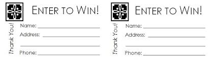 40 free editable raffle ticket
