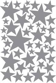 Items Similar To Silver Stars Wall Decal Nursery Silver Stars Wall Stickers Metallic Silver Star Wall Decals Children Metallic Silver Vinyl Stars On Etsy Star Wall Decals Gold Star Wall Decals