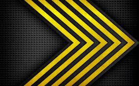 تحميل خلفيات تحت الإنشاء أصفر أسود الملمس الملمس المعدني إصلاح
