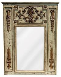 cau trumeau wall mirror antique
