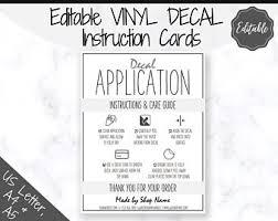 Vinyl Application Etsy