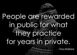 "Adam JOBS on Twitter: ""People are rewarded in public for what they  #practice for years in private. – Tony Robbins. http://t.co/60HzLwn887"""