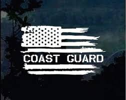 Coast Guard Decal Etsy
