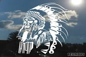 Native American Decals Stickers Decalboy