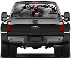 Home Garden Decor Decals Stickers Vinyl Art God Of War Kratos Rear Window Decal Graphic Sticker Car Truck Suv Van 496