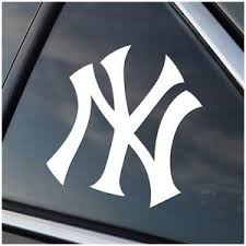 New York Yankees Vinyl Decal Stick Emall Vinyl Decals