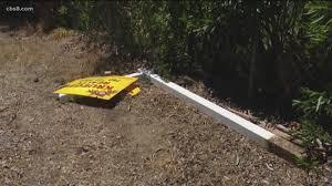 Caught On Video Man Kicks Fence Screams At Barking Dogs In Valley Center Cbs8 Com
