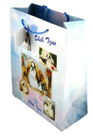 shih tzu gift bag