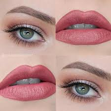 everyday makeup idea for green eyes