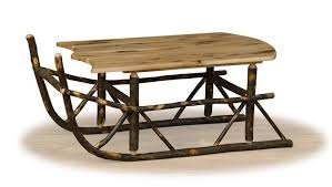 sleigh coffee table sleigh table