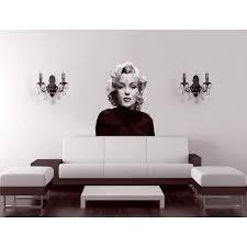 Shop Marilyn Monroe Polygonal Wall Decal Fashion Polygon Modern Wall Art Sticker Overstock 31759364