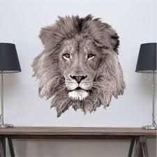 Lion Decal Lion Head Wall Mural Lion Mane Wall By Primedecal Animal Wall Decals Wall Decals Lion Mural