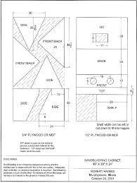 sandblasting cabinet plans