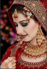 beautiful and pretty bridal makeup