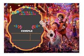 Invitacion Editable Coco Halloween 50 00 En Mercado Libre