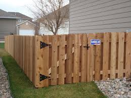 4 Shadow Box Wood With 4 Pickets America S Fence Store