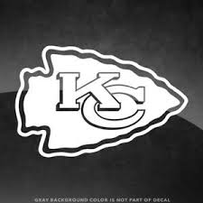Kansas City Chiefs Nfl Vinyl Decal Sticker 4 And Larger 30 Color Options Ebay