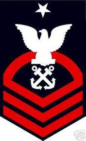 Sticker Rank U S Navy E8 Senior Chief Petty Officer M C Graphic Decals