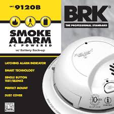 120v ac dc smoke alarm