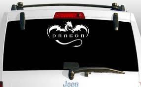 Car Truck Graphics Decals Spacex Dragon Logo Car Window Bumper Helmet Laptop Die Cut Vinyl Decal Sticker Auto Parts And Vehicles