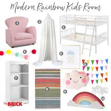 Mood Board Modern Rainbow Toddler Room Little B S Bedroom Makeover Week 1 The Diy Mommy