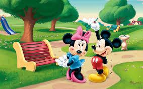 minnie mouse cartoon hd wallpaper
