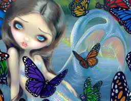 mermaid by jasmine becket griffith