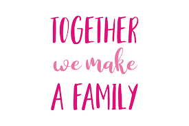 together we make a family quote svg cut graphic by thelucky