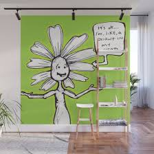 flowerkid wall mural