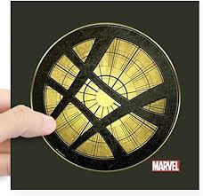 Amazon Com Cafepress Doctor Strange Grunge Icon Square Sticker 3 X 3 Square Bumper Sticker Car Decal 3 X3 Small Or 5 X5 Large Home Kitchen