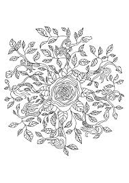 Mewarna11 Mandala Natuur Kleurplaten