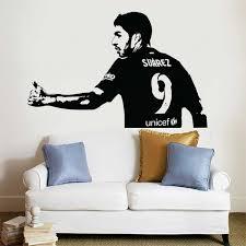 Luis Suarez Barcelona Fc Football Vinyl Wall Art Decal