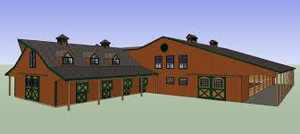 barn kits horse barns pole barns