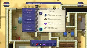 The Escapists Master Craftsman Trophy Guide All Crafting Items Ps4 Youtube
