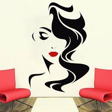 Discount Hair Wall Decals Hair Wall Decals 2020 On Sale At Dhgate Com
