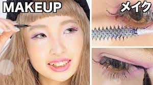 makeup tutorial by kawaii gyaru model