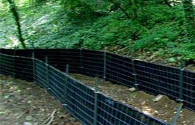Construction Fence Silt Fencing And Safety Barriers