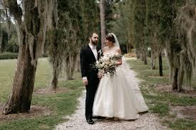 romantic jekyll island wedding at villa