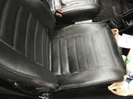 leather seat bottom seam repair