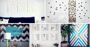 19 simple diy wall art ideas for your