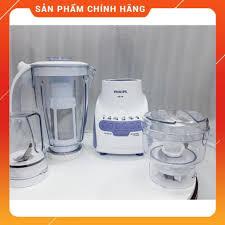 Máy xay sinh tố Philips HR-2118, 3 cối nhựa, CS 600W, BH 24 tháng ...