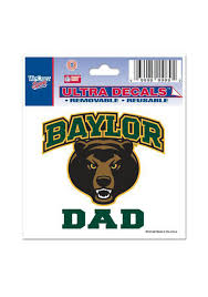 Baylor Bears 3x4 Dad Auto Decal Green 5710189