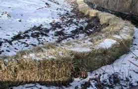 Sediment Bale Barrier