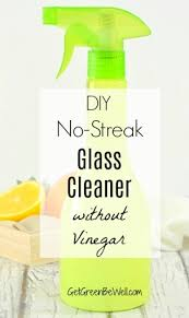 homemade glass cleaner without vinegar