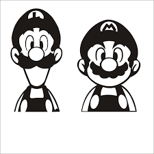 Super Mario Decal Video Game Controller Sticker Play Decal Gaming Posters Gamer Vinyl Decals Decor Mural Video Game Wall Sticker Wall Stickers Aliexpress