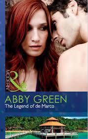 The Legend of de Marco (DePiero Siblings, #1) by Abby Green